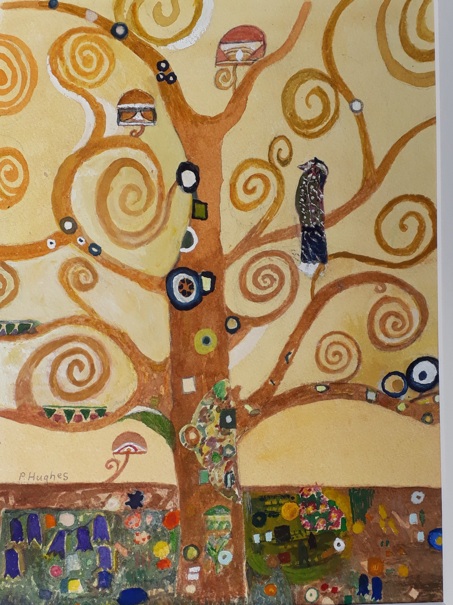 Pauline - Tree of Life (watercolour)
