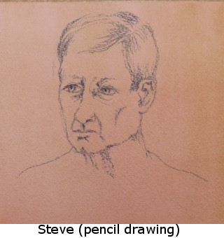 Steve (pencil drawing)